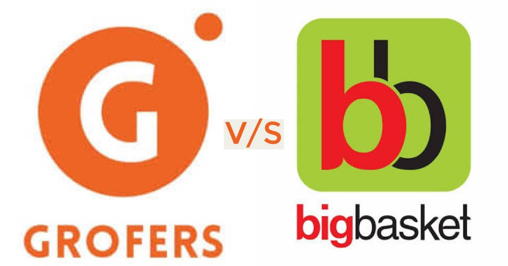Grofers vs BigBasket